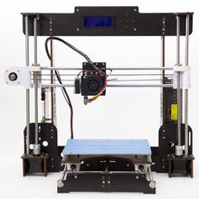 A8 3D Printer DIY High Accuracy Desktop Prusa i3 DIYLCD Screen Printer Self Assembly Support
