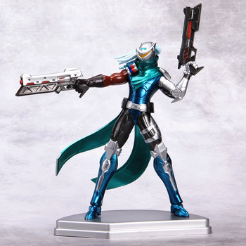 LOL League of Legends figure Lucian Project limited edition Model Toy action-figure Game Heros anime party decor Creative Gift