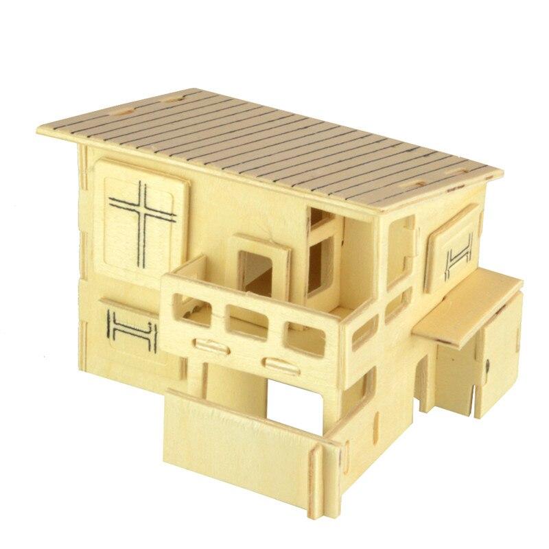 3d house art craft