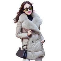 2019 Autumn Winter Sheepskin Coat Women Collar With Natural Real Fox Fur Genuine Leather Jacket Women Overcoat Real Fur Coat W42
