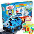 20pcs Electric Trackmaster Thomas and Friends Trains New Sets Model Building Bricks educational Toys compitable with Lego Duplo