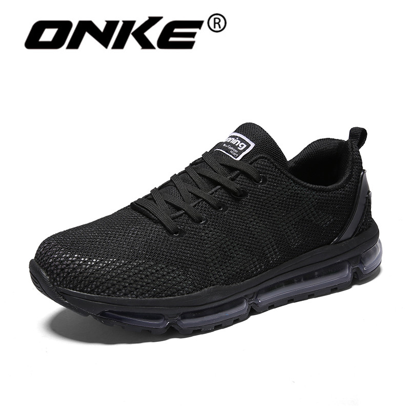 Onke Reflective Sneakers for Men Music Rhythm Women Running Shoes Breathable Sports Man Sneaker Wear Resistance Gym Trainers