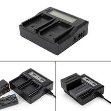 New 2017 arrival Fast Quick Dual Battery Ruibo Charger For Sony NP-F970 NP-F770 F750 F550 F960  Hot Sale