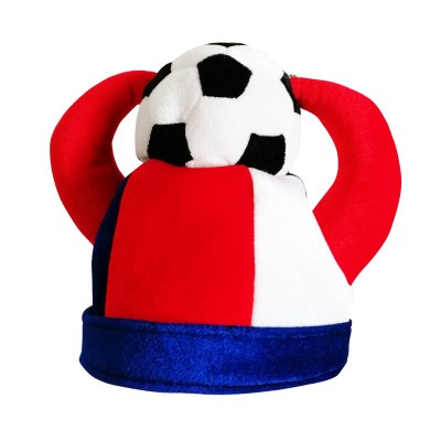 Sports Meet France Football Games Cap Fans Cheerleading Team Cheer Headwear Hats For Kids And Adult