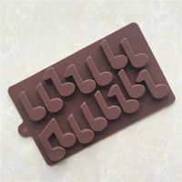 Musical Notes Silicone Mold Fondant Cake Decorating Tools Moule Silicone Chocolate Molds Mould Bakeware