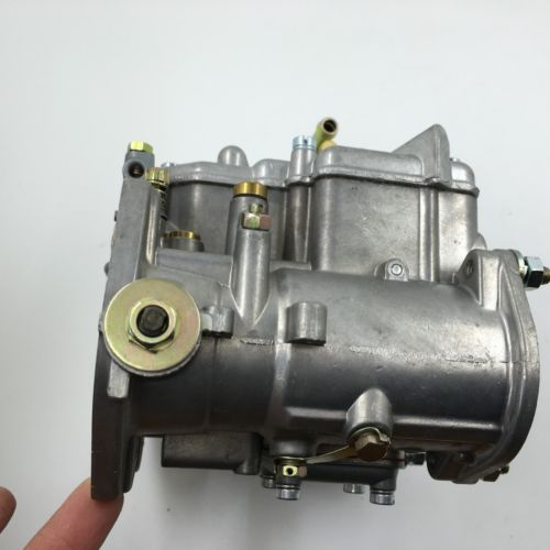 replacement for Weber Solex Dellorto NEW 45DCOE 152G carburetor with air horns