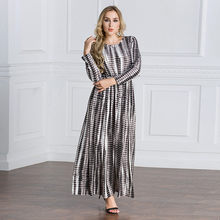2c0d1e127 Dubai Abaya islámico Abaya cóctel ropa Maxi vestido musulmán Burqa bata  vestidos plus tamaño   M5Y