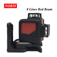 Red/Green Light 8 Lines 5 Lines Laser Levels Self Leveling 360 Horizontal and Vertical Cross Super Powerful 3D Laser Beam Line