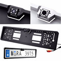 1 set Waterproof High-definition and 170 degree 4 LEDs  Europe License Plate Frame with Rear View Camera