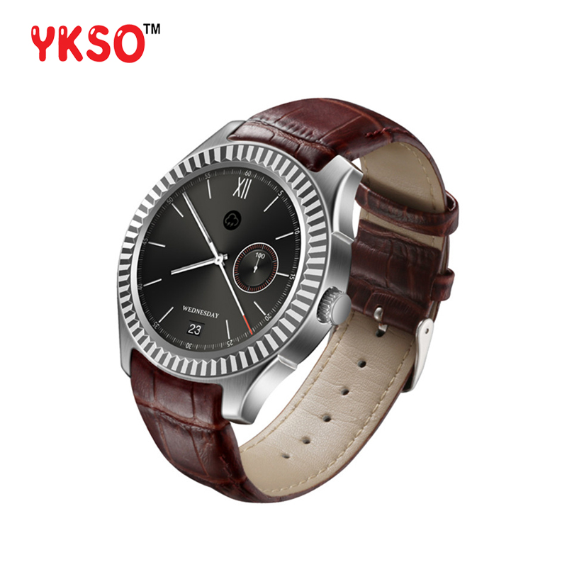YKSO Bluetooth 4.0 smart watch support SIM Card GPS watch D7 wearable devices Android 4.4 500mAh Battery smart watch