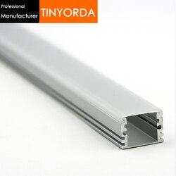 Tinyorda 10 個 (1 メートルの長さ) ストリップアルミ Led プロファイル Led チャンネル Profil のための 12 ミリメートル LED ストリップライト [専門メーカー] TAB1713