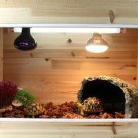 Cat Bed Cave Self Warming Cat Bed Creative 18 * 18 * 12 Cm Resin Reptile Ornament Aquarium Testudo Heated Cat Bed