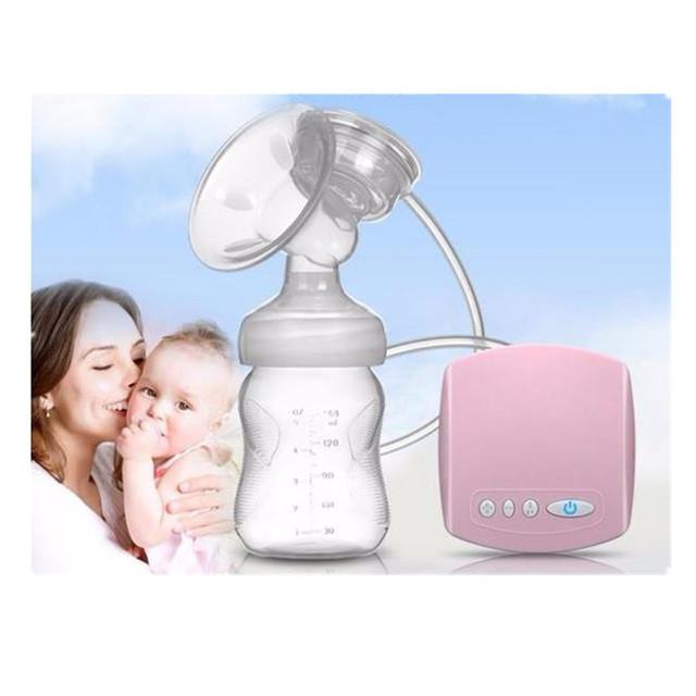 2016 Nueva Automático Sacaleches Eléctrico Bomba de Leche de Succión del Pezón Lactancia Mamá Amor USB Solo BAP Envío de La Venta Caliente
