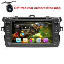 8″ Android 5.1 Car DVD Player GPS Navigation For Toyota Corolla 2006 2007 2008 2009 2010 2011 car raido stereo with SWC BT wifi
