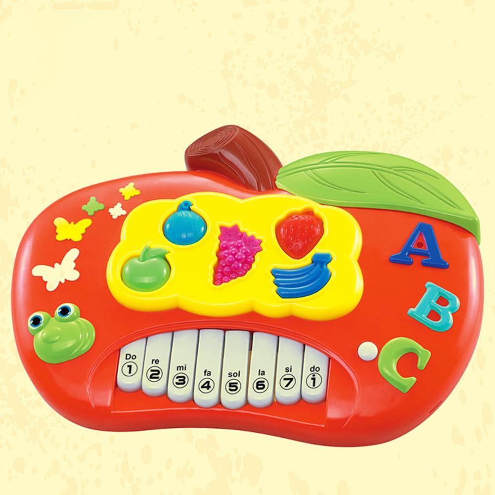 Leadingstar Bambini Mini Cartone Animato Frutto Della Tastiera Di Piano Electone Strumento Musicale Giocattolo Strumento Educativo Per I Bambini Sapore Fragrante (In)