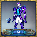 Instock speeding CS modelo Saint Seiya Myth Cloth Gamma Phecda Thor Dios Guerrero Armadura De Metal