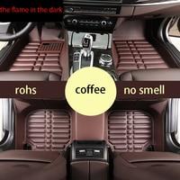 fast shipping fiber leather Car Floor Mats for Porsche Cayenne Porsche 955/957/958 2004 2010 1st Generation Cayenne GTS