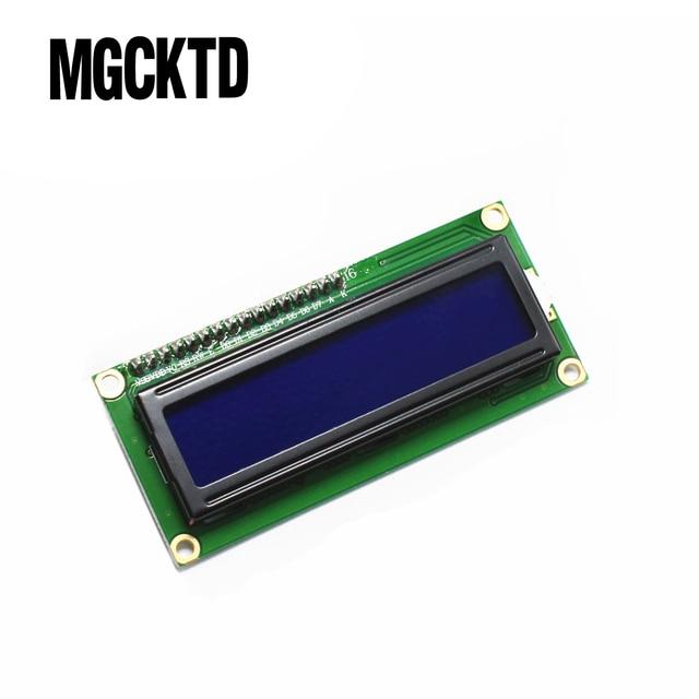 1 шт./лот ЖК-дисплей Модуль синий экран IIC/I2C 1602 ЖК-дисплей