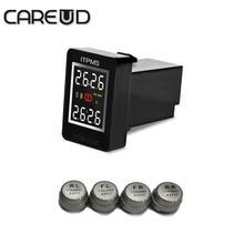 Careud tpms sensores externos U912 4 min para nissan, sistema de monitoreo de presión de neumáticos PS BARRA de diagnóstico herramienta neumático careud presión