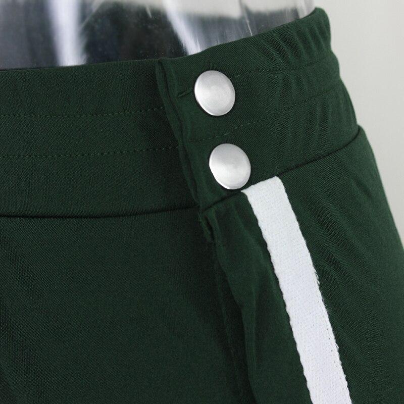 HTB1ppBCSpXXXXXDaFXXq6xXFXXXb - Red button track pants runway Women's wide leg trousers casual pants JKP012