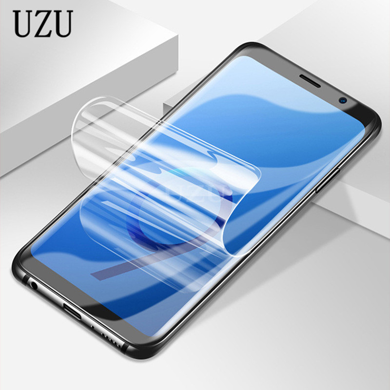 Full Cover Hydrogel Film For Huawei P20 Lite Pro P9 P10 Lite Plus P8 lite 2017 Screen Protector Film for Honor 10 9 Lite Soft