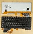 Novo Teclado Para Dell Alienware 14 Laptop EUA & Russo RU Idioma Preto Com Backlit
