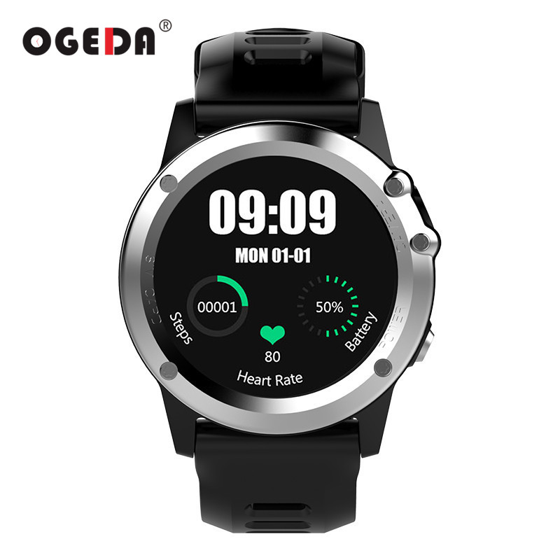 OGEDA GPS WIFI 3G Smart Watch Men Bluetooth Waterproof Smartwatch Camera Support SIM Heart Rate Health Tracker Male Smart Clock fs08 gps smart watch mtk2503 ip68 waterproof bluetooth 4 0 heart rate fitness tracker multi mode sports monitoring smartwatch