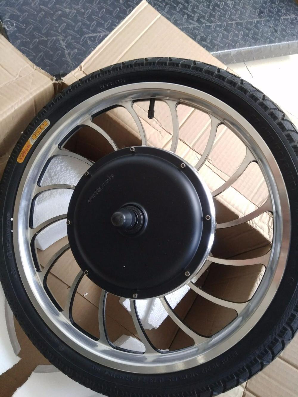 BLDC 36v 48v 1000w Front Drive Rear Drive Scooter Hub Motor Wheel 20