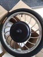 BLDC 36v 48v 1000w Front Drive Scooter Hub Motor Wheel 20
