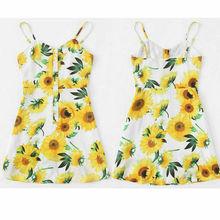 Summer Women Boho Floral Mini Dress Ladies robe femme Beach Party Sundress vestidos Bodycon dress