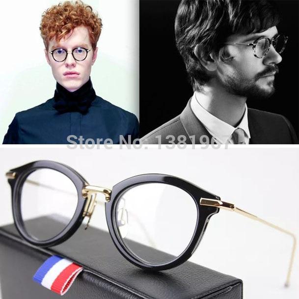 0ba98695c08c THOM BROWNE TB 011 Fashion Armacao De Oculos De Grau Femininos Men  Eyeglasses Frame Brand Glasses Frame Women Optical Frame