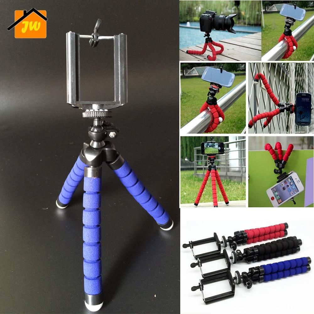 Hot Sale <font><b>Phone</b></font> <font><b>Holder</b></font> <font><b>Flexible</b></font> <font><b>Octopus</b></font> Tripod Bracket Selfie Stand Mount Monopod Styling Accessories For Mobile <font><b>Phone</b></font> Camera