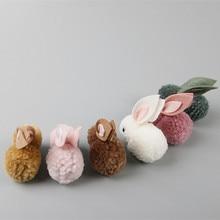 New Lovely Rabbit Baby Hair Clips Kids Hairpins Princess Handmade Barrette Children Headwear Girls Accessories Hot Sale