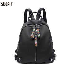 Zipper Bags Soft Girls Casual Travel Bag