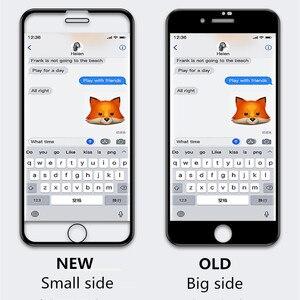 Image 2 - 40D Incurvé Bord Doux Verre Protecteur Pour iPhone 7 6 6S 8 Plus X Trempé Protecteur Décran Pour iPhone X XR XS Max 7 6 Film de Verre