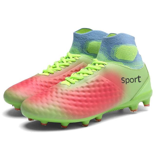 Mais barato Mens Botas De Futebol Chuteiras de Futebol Formação Sapatos  Sapatos de Futebol Profissional de f549c8a200bf4