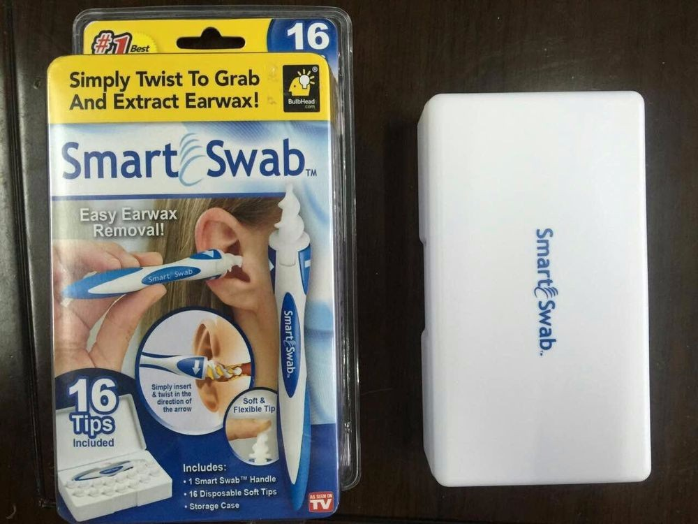 DHL free 100sets Smart Swab Ear Cleaning System Clean Ear ... Ear Wax Removal As Seen On Tv