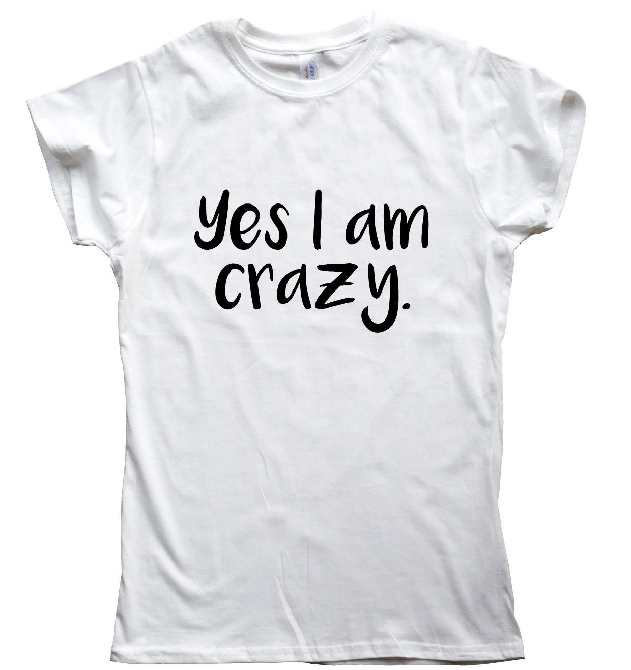 I Might Be Crazy But funny T shirts mens humour gift womens sarcastic slogan top