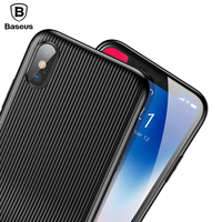 Baseus Audio Case For IPhone X 10 Capinhas PC TPU Data Sync Fast Charge Music Call