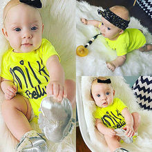 (0-24M)Newborn Girls Boys Baby Bodysuits Summer Cartoon Clothing baby boy girl clothes infant toddler jumpsuits overalls