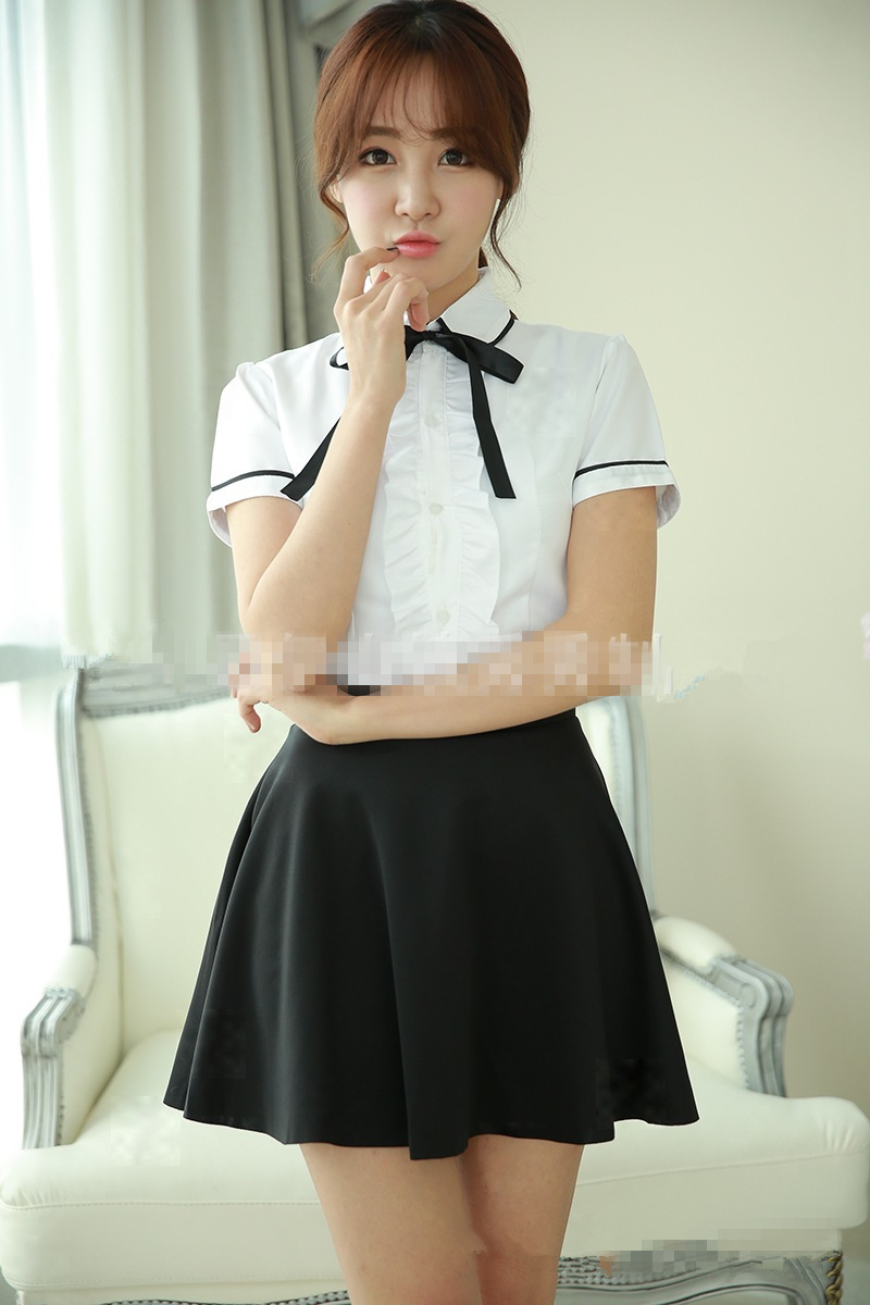 Korean Japanese Girls School Uniforms Dance Costume