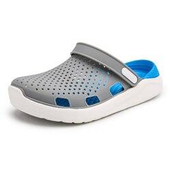 2fae1c148f Summer Mule Clogs For Men Fashion Classic EVA Lightly Garden Clog Shoes  Male Men's Slippers Flip