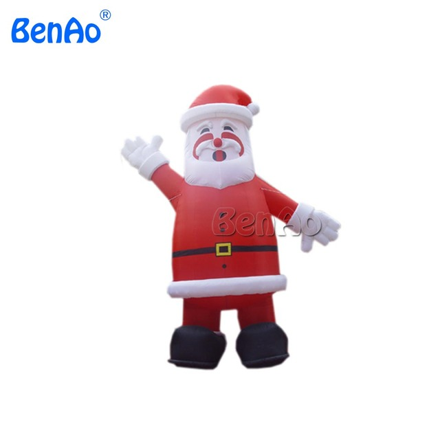 x084 5m hight inflatable santa claus blow up christmas yard lawn santa decoration - Blow Up Christmas