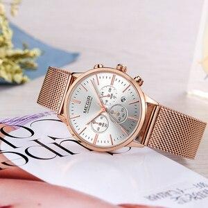 Image 5 - MEGIR แบรนด์ผู้หญิงหรูหราแฟชั่นนาฬิกาควอตซ์สุภาพสตรีนาฬิกา Relogio Feminino นาฬิกานาฬิกาข้อมือสำหรับคนรักสาวเพื่อน 2011