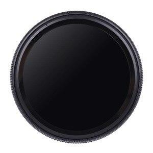 Image 2 - 37mm ND2 400 neutralna gęstość Fader zmienna filtr nd regulowany dla Panasonic LUMIX GX9 GX80 GX85 GX800 GX850 z 12 32mm obiektyw
