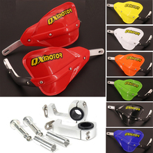 22 28 mm Motorcycle Hand Guards Handguard Protector For KTM SX SXF KLX KX KXF YZ YZF CR CRF RMZ Dirt Bike Enduro Supermoto цена 2017