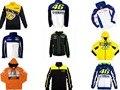 Envío libre barato fit para yamaha vr46 patrimonio fleece suéter informal chaqueta de lana de chaqueta de la motocicleta