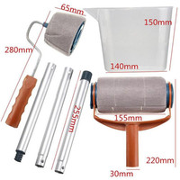 1 Set Painting Your Home Office Room Multifunction Roller Paint Brush Set For DIY House Pait