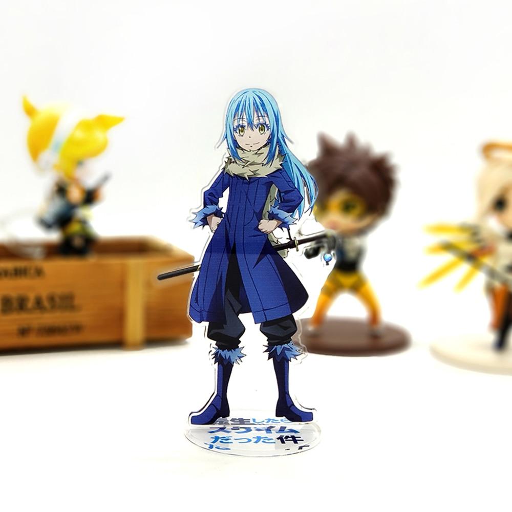 Hot Sale 1pcs Japanese Anime Figure Rubber Tensei Shitara Slime Datta Ken Rimuru Tempest Heroine Keychain Anime Keychain Phone Charm Toys & Hobbies
