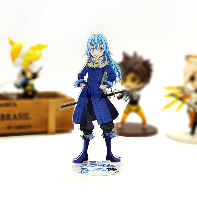 That Time I Got Reincarnated as a Slime Rimuru Tempest acrylic stand figure model plate holder cake topper anime japanese cool